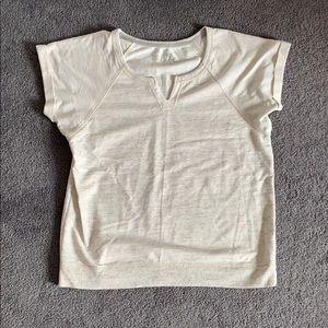 Ivory-Grey Shirt